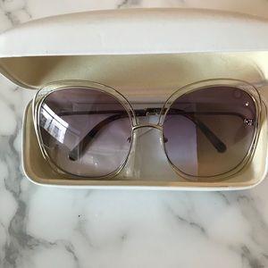 b1cd3bdc7b4 Chloe Accessories - New Chloe Carlina 62 Oversized Sunglasses